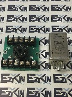 Deitrol Controls 105Mc  10A Coil 120Vac Relay 20126-84