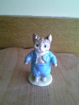 Beswick Beatrix Potter TOM KITTEN BP2 GOLD BACKSTAMP
