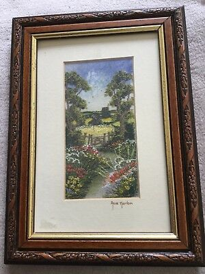 Framed Picture By Anne Harrison