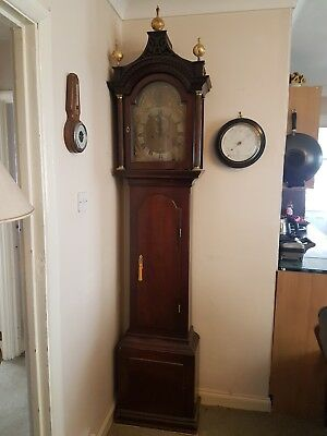 John Tucker Portsmouth long case Grandfather Clock