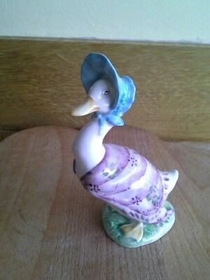 Beswick Beatrix Potter JEMIMA PUDDLEDUCK BP2 Gold Backstamp