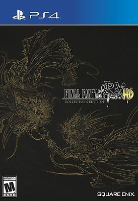 Final Fantasy Type-0 HD - Collector's Edition [PlayStation 4 PS4, Action JRPG]