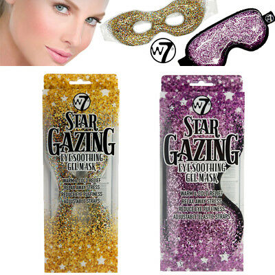 W7 Star Gazing Eye Soothing Gel Mask Warm & Cold Relief Reduce Eye Puffiness