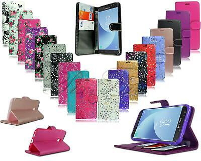 For Alcatel 1 5033X New Leather Wallet Phone Case Cover + Genuine Screen Glass