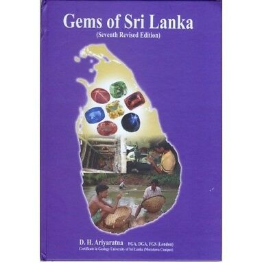 GEMS OF SRI LANKA Seventh Revised Edition Book New - TB1709