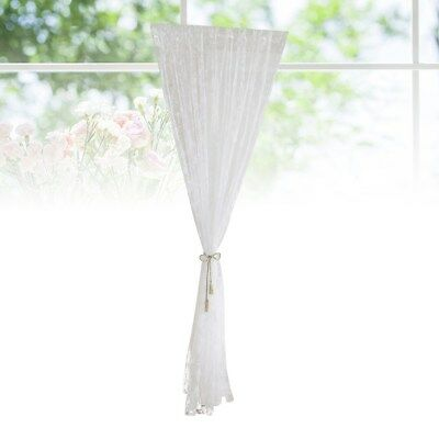 1 Pc 100x200cm Elegant Small Hooks Tulle Voile Curtains Curtains for Living Room