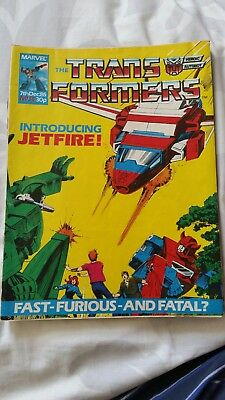 Marvel UK's The Transformers issue 38