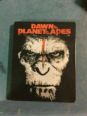Dawn of the Planet of the Apes - Ltd. Edition Metalpack [3D+Blu-ray] AS IS!!(g)