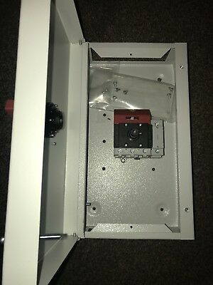 Proline TP&N 3 phase isolator 20amp rated. Steel enclosure ip41