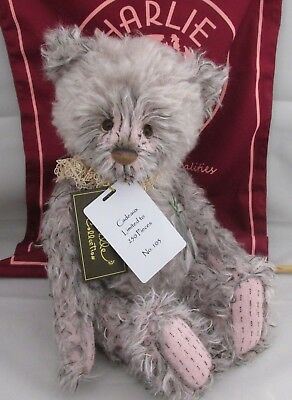 SPECIAL OFFER! 2018 Charlie Bears Mohair CADEAUX (No 103 of 250) RRP £185