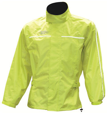 Oxford Rain Seal All Weather Water Resistant Over Jacket Fluorescent XL RM110XL