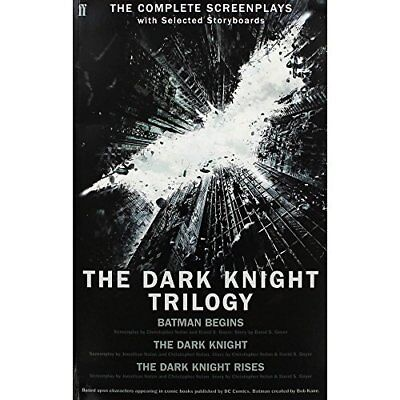 The Dark Knight Trilogy, Nolan, Christopher, Used; Good Book