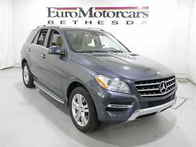 Mercedes-Benz M-Class 4MATIC 4dr ML 350 mercedes benz m ml 4matic 350 ml350 14 15 gray grey suv awd certified navigation