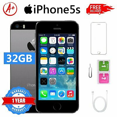 Apple Iphone 5S 32 Gb Space Gray Nero Sigillato Garanzia Grado A+++
