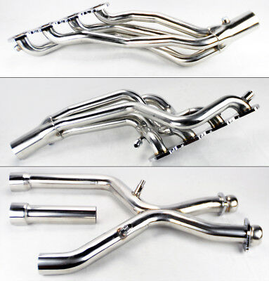 Performance Long Tube Headers & X Pipe For Ford Mustang 96-04 Cobra Mach 1 4.6L