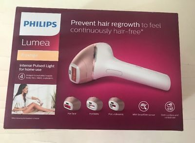 PHILIPS Lumea BR1956 Prestige IPL Hair Removal Device for Body, Face & Underarms