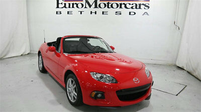 Mazda MX-5 Miata 2dr Convertible Manual Sport mazda mx 5 mx5 miata convertible manual sport 6 speed stick 16 15 red black used