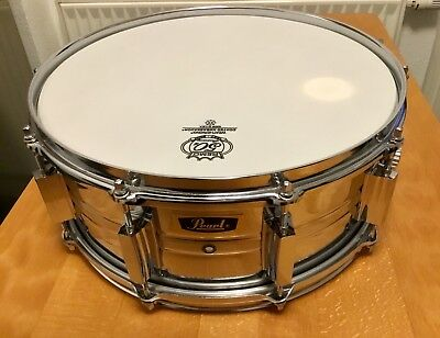 """Pearl 4514 Snare Drum Bj.1969 14""""x 5,5"""" Made in Japan, Vintage, Super Zustand!!!"""
