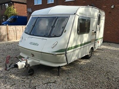 1992 Elddis whirlwind XL 2berth needs TLC spares or repairs Cris reg