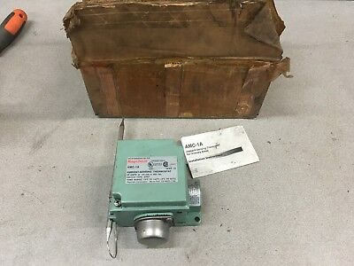 New In Box Raychem Ambient-Sensing Thermostat Amc-1A