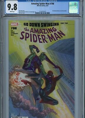 Amazing Spider-Man  #797 Alex Ross Cover Cgc 9.8 1St Red Goblin
