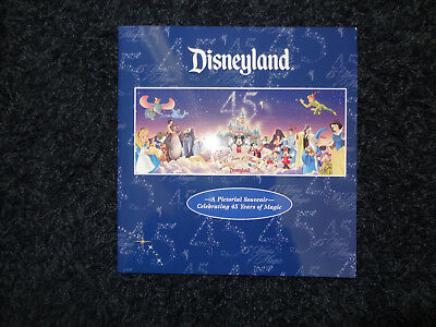 Disneyland Pictorial Souvenir CELEBRATING 45 YEARS OF MAGIC Book MINT! BRAND NEW