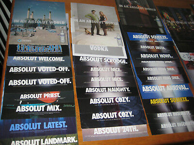 ABSOLUT Vodka Ads LARGE Ads 47 in total