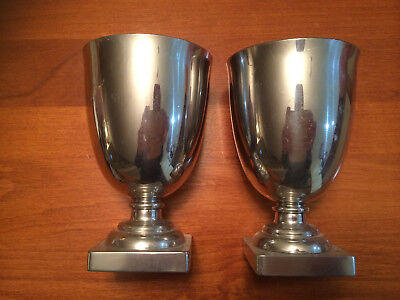 Pair of Thomas Jefferson Goblets By Stieff Co, Baltimore P65