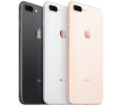 NEW Apple iPhone 8 Plus ( 64 GB / 256 GB ) AT&T 4G LTE Smartphone