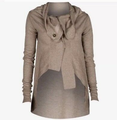 All Saints Escape Cardigan 10 Wool and Silk