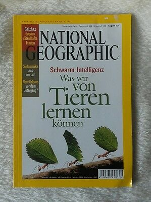 National Geographic 08/2007
