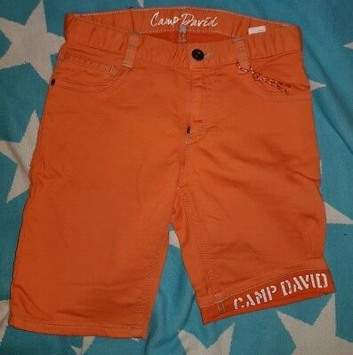 Camp David Shorts Gr.152 orange