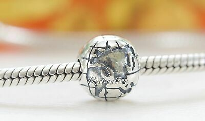 Authentic Pandora Globe Sterling Silver Clip 791182