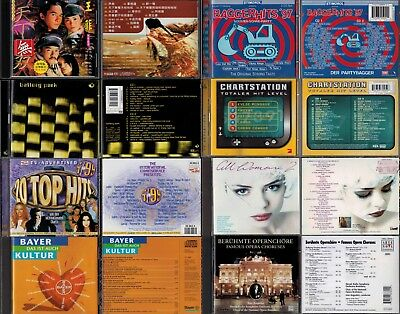 74 CDs Electro Latin Pop Hip Hop Rock Soul Jazz Schlager Classic Dub House Film