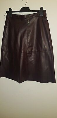 River Island Leather Look Skirt BNWT Size 10