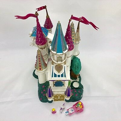 Vintage Polly Pocket Beauty and the Beast Light Up Castle Trendmaster 1998