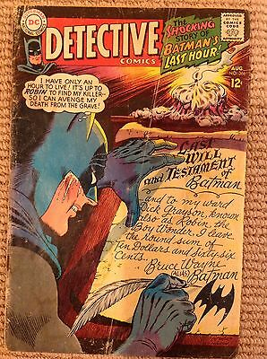 DC Detective Comics Batman #366 1967 Carmine Infantino Good Condition