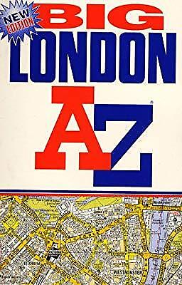 A-Z London Big Street Atlas (London Street Atlases), Geographers A-Z Map Company