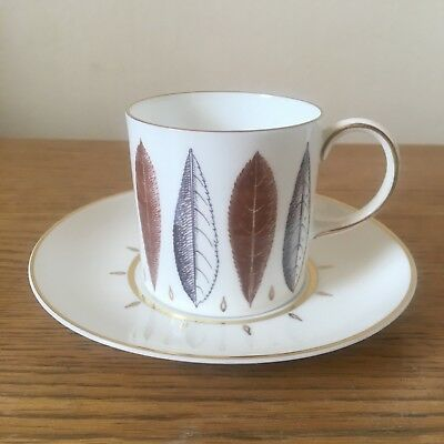Susie Cooper Hyde Park Cup and Saucer bone china vintage original
