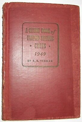 "1949  ""REDBOOK"" 3rd   EDITION BY R. S. YEOMAN   ""SCARCE"""