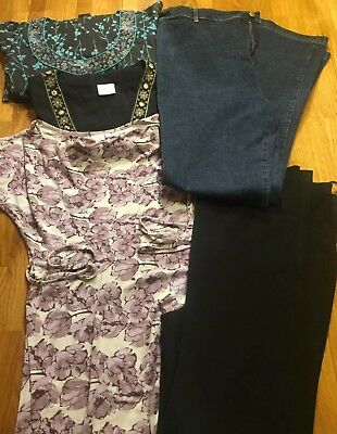 Maternity Clothes Bundle, Size 10-12 Next, Mothercare, Jojo, Blooming Marvelous,