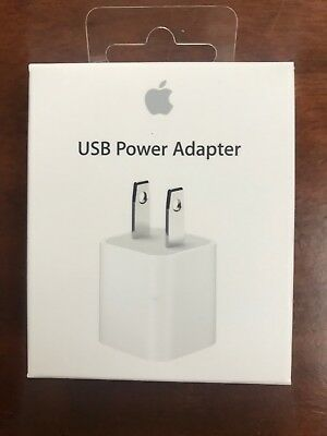Authentic Accessory For Apple iPhone 6s/7/8/X (USB Lightning Cable/Wall Adapter)