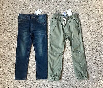 Bnwt!! 5 Years! Boys Skinny Jeans And Chinos!! From NEXT