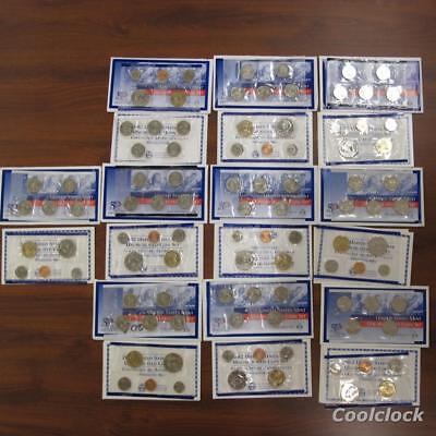 10 Pc Lot 2002P United States Mint Uncirculated & 50 State Quarter Coin Sets T61
