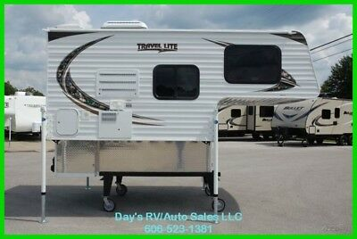 2018 Travel Lite 770R Slide In Pick up Truck Camper 1/2 Ton Short Bed New RV MH