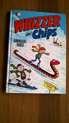 Vintage Whizzer And Chips Annual 1983. Excellent!