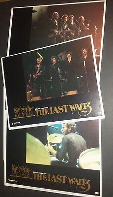 THE LAST WALTZ - * Rare * Complete 8 US Lobby Card Set