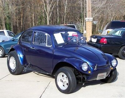 Volkswagen Beetle - Classic BAJA 2100CC STROKER 4-SPEED RESTO DRIVER QUALITY BUG AWESOME RIG HI-END BUILD PRO-CRAFT EMPI CHROME SCAT DUNE 31s THING GHIA RAIL SIS