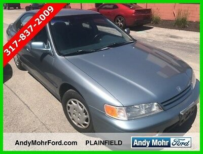 Honda Accord LX Used 94 Honda Accord LX 2.2L I4 Manual FWD Sedan Blue Gray Cloth No Reserve