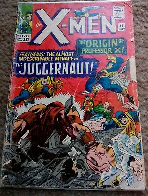 The Uncanny X-Men #12 First appearance of the Juggernaut KEY!